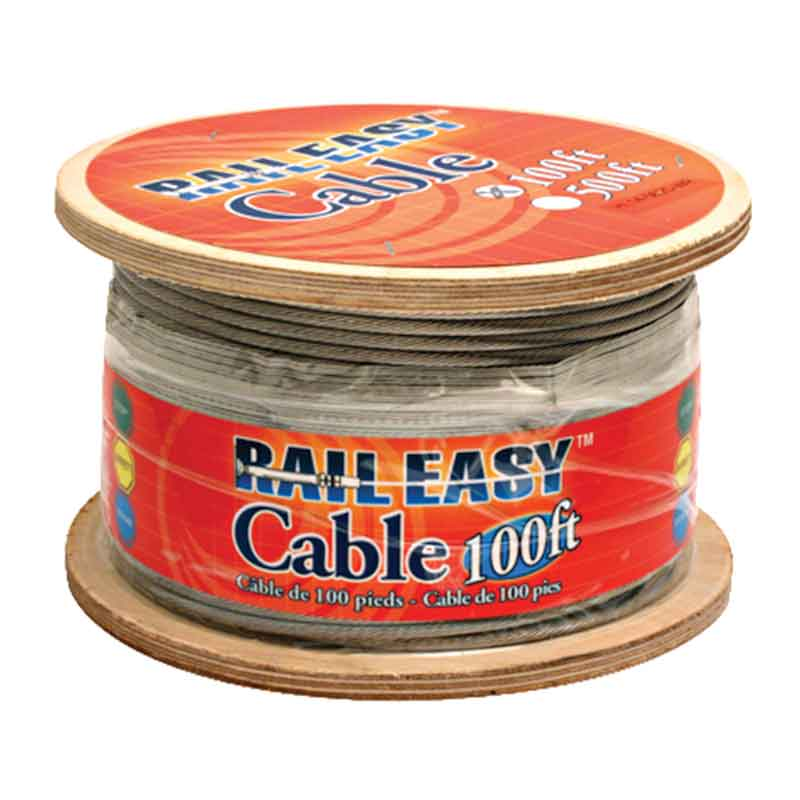 Preview Thumbnail 1 - Rail Easy Cable 5/32 Diameter - Liberty Cedar